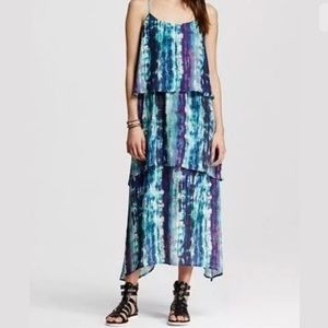 "Dresses & Skirts - 3-Tier ""Ocean Print"" Boho Dress"